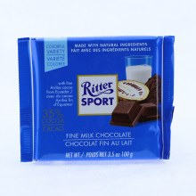 Ritter Sport Fine Milk Chocolate, 35% Cocoa 3.5 oz