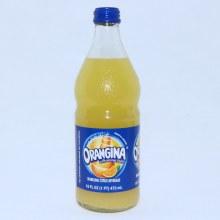 Orangina with Orange Pulp, Sparkling Citrus Beverage, 16 FL oz 16 oz