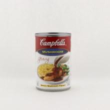 Campbells mushroom gravy 10.5 oz