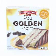 Pepperidge Farm Rich Golden Layer Cake,  Serves 8, 19.6 oz 19.6 oz