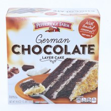 Pepperidge Farm German Chocolate Layer Cake, Serves 8, 19.6 oz 19.6 oz