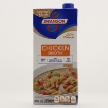 Swanson Chicken broth 100Per Cent Natural