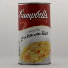 Campbells Chicken with Rice Family Size