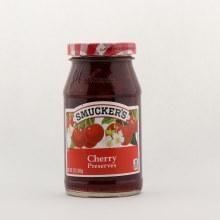 Smuckers cherry preserves 12 oz