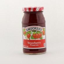 Smuckers strawberry preserve