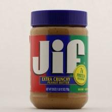 JIF Extra Crunchy Peanut Butter 28 oz