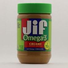 JIF Crunchy Peanut Bttr O3 16 oz