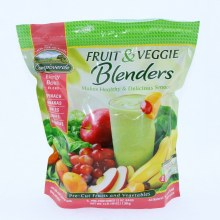 Campoverde Fruit  and  Veggie Blenders  Spinach Bananas Apples Grapes  and  Mandarins All Natural No Added Sugar Keeps Bones Strong and Healthy Helps Slow Biological Aging Provides Instant Energy 3 LBS