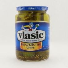 Vlasic Bread and Butter Chips Crunchy Mildly Sweet
