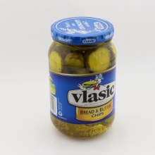 Vlasic Big Crunch Bread  and  Butter Chips Mildly Sweet Fresh Pack