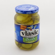 Vlasic Hamburger Oval Pickle