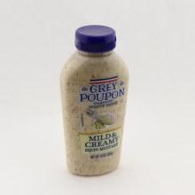 Grey Poupon Mild  and  Creamy Dijon Mustard
