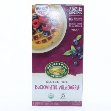 Nature's Path Buckwheat Wildberry Waffles  7.4 oz