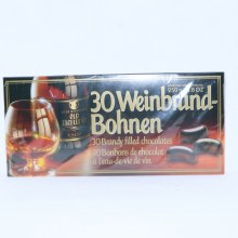 Weinbrand-Bohnen 30 Brandy Filled Chocolates, 8.8oz.  8.8 oz