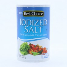 Best Choice Iodized Salt 26oz.
