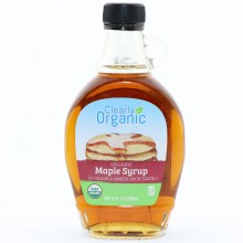 Clearly Orga Maple Syrup