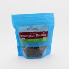 Clearly Organic Thompson Raisins  8 oz