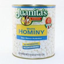 Juanitas White Hominy
