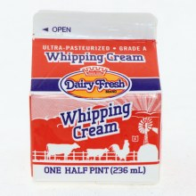 Dairy Fresh Whip Cream