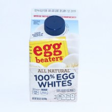 Egg Beaters 100% Egg Whites.  16 oz