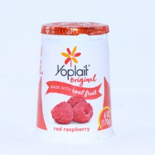 Yoplait Original Red Raspberry Yogurt 6oz No Artificial Flavors No High Fructose Corn Syrup No Colors from Artificial Sources
