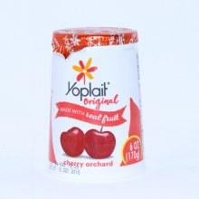 Yoplait Cherry Yogurt
