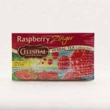 Celestial Raspberry Zinger Tea 20 tea bags