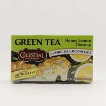Celestial Honey Lemon Ginseng Tea  20 ct