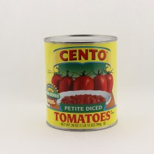 Cento petit diced tomatoes 28 oz