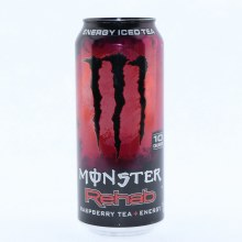 Monster Rehab Raspberry Tea + Energy 15.5 fl oz.