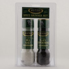 Alessi Sea Salt  and  Peppercorn