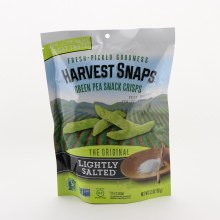 Harvest Snaps Green Pea Snack Crisps The Orginal Lightly Salted