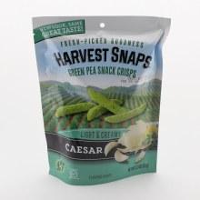 Harvest Snaps Green Pea Snack Crisps Caesar