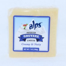 Alps Imported Gruyere Cheese