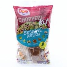 Dole Chopped Sesame Asian Salad Kit  10.6 ea