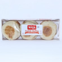 Bays English Muffins Original 6 Count.