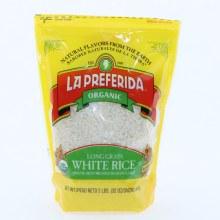 La Preferida Organic Long Grain White Rice, Gluten Free 2 lbs