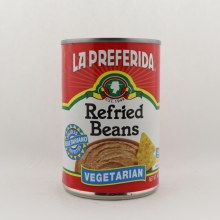 La Preferida Refried Beans Vegeterian 16 oz
