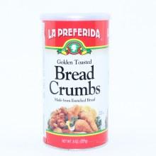 La Preferida Golden Toasted Bread Crumbs 8 oz