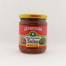 LP thick medium salsa