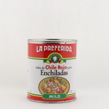 La Preferida Chile Rojo Enchiladas
