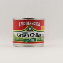 La Preferida Mild Green Chiles Diced Gluten Free
