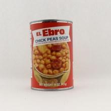 EE chick peas soup 15 oz