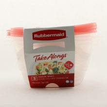 Rubbermaid 3 M Bowls