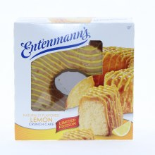 Entenmann's Naturally Flavored Lemon Crunch Cake 26 oz