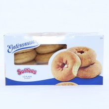 Entenmann's Soft'ees Plain Donuts, 12 Donuts 18 oz
