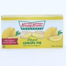 Krispy Glazed Lemon Pie