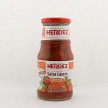 Herdez medium salsa casera