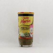 Doña Maria Mole Verde Mexican Sauce 8.25 oz