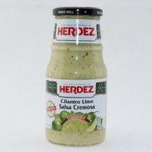 Herdez Cilantro Lime Salsa